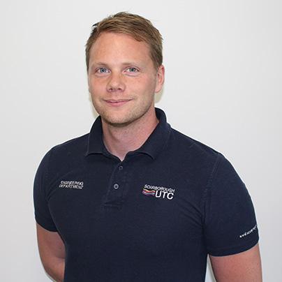 Rob Shephard, director of engineering at Scarborough UTC